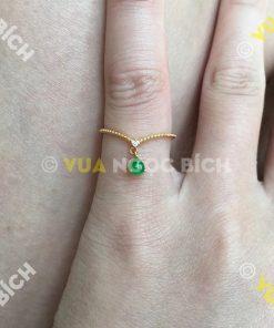 Nhẫn Ngọc Bích Nephrite Jade (NN038)