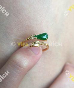 Nhẫn Ngọc Bích Nephrite Jade (NN040)