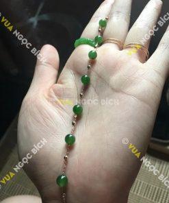 Vòng Tay Ngọc Bích Nephrite Jade (VT021)