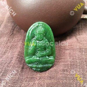 Phật Bản Mệnh Phật A Di Đà Ngọc Bích Nephrite Jade(MD098)