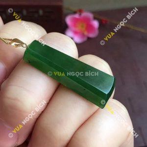 Mặt dây Ngọc Bích Nephrite Jade (MD082)