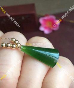 Mặt Dây Ngọc Bích Nephrite Jade (MD085)