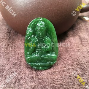 Phật Bản Mệnh Bồ Tát Đại Thế Chí Ngọc Bích Nephrite Jade (MD096)