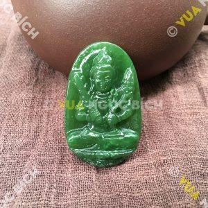 Phật Bản Mệnh Bồ Tát Hư Không Tạng Ngọc Bích Nephrite Jade(MD092)
