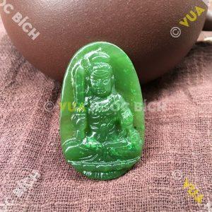 Phật Bản Mệnh Bất Động Minh Vương Ngọc Bích Nephrite Jade (MD097)