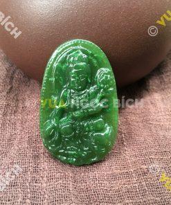 Phật Bản Mệnh Phổ Hiền Bồ Tát Ngọc Bích Nephrite Jade (MD094)