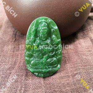 Phật Bản Mệnh Quán Âm Thiên Thủ Ngọc Bích Nephrite Jade (MD091)