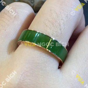 Nhẫn Ngọc Bích Nephrite Jade (NN049)