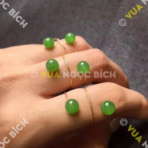 Nhẫn Ngọc Bích Nephrite Jade (NN050)