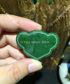 Mặt Dây Khánh Ngọc Bích Nephrite Jade (MD106)