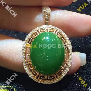 Mặt Dây Ngọc Bích Nephrite Jade (MD113)