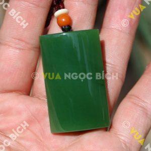 Mặt Dây Ngọc Bích Nephrite Jade VIP (MD107)