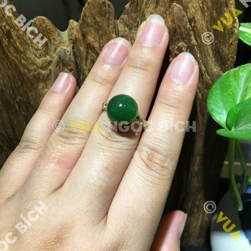 Nhẫn Ngọc Bích Nephrite Jade  (NN051)