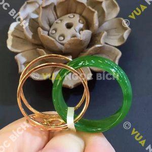 Nhẫn Ngọc Bích Nephrite Jade (NN048)