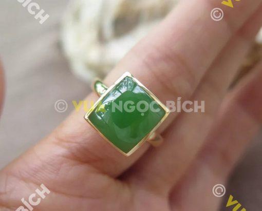 Nhẫn Ngọc Bích Nephrite Jade (NN046)
