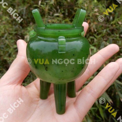 Lư Hương Ngọc Bích Nephrite Jade (VPPT008)