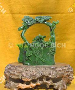 Ấm Trà Ngọc Bích Nephrite Jade (VPPT004)