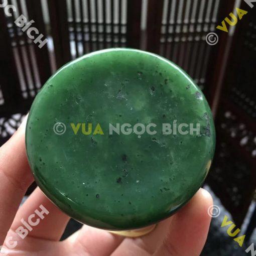 Ấm Trà Ngọc Bích Nephrite Jade (VPPT006)