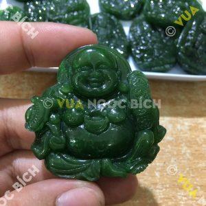 Mặt Dây Di Lạc Ngọc Bích Nephrite Jade (MD021-2)