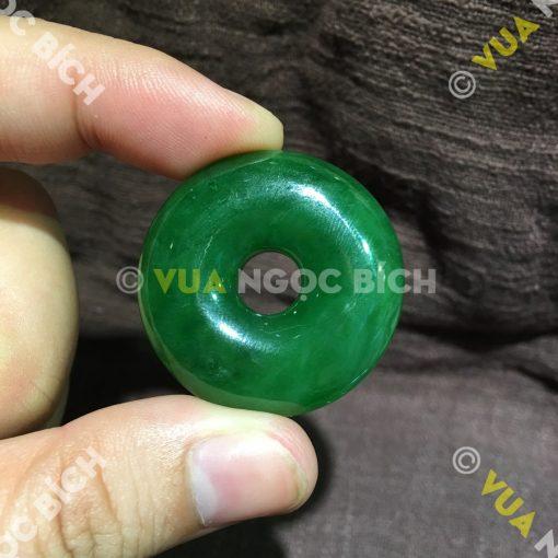 Mặt Dây Đồng Điếu Ngọc Bích Nephrite Jade (MD027-2)