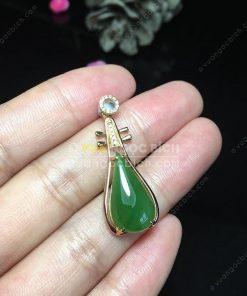 Mặt Dây Ngọc Bích Nephrite Jade (MD158)
