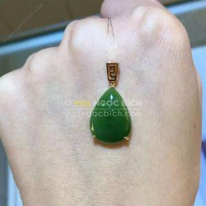 Mặt Dây Ngọc Bích Nephrite Jade (MD159)