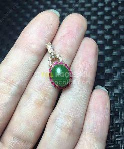 Mặt Dây Ngọc Bích Nephrite Jade (MD160)