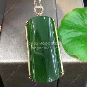 Mặt Dây Ngọc Bích Nephrite Jade (MD163)