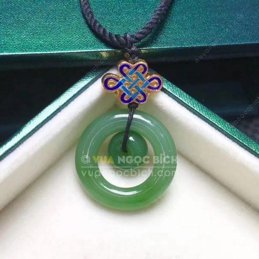 Mặt Dây Ngọc Bích Nephrite Jade (MD169)