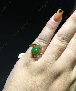 Nhẫn Ngọc Bích Nephrite Jade (NN057)