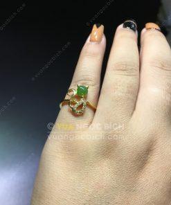 Nhẫn Ngọc Bích Nephrite Jade (NN058)