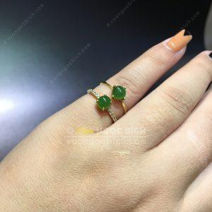 Nhẫn Ngọc Bích Nephrite Jade (NN059)