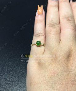 Nhẫn Ngọc Bích Nephrite Jade (NN060)