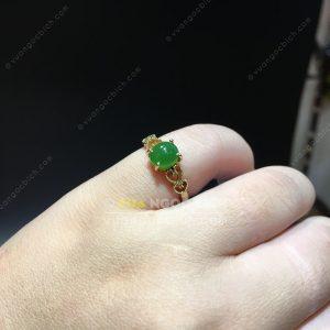 Nhẫn Ngọc Bích Nephrite Jade (NN062)