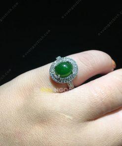 Nhẫn Ngọc Bích Nephrite Jade (NN063)