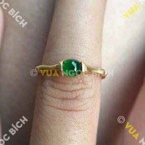 Nhẫn Ngọc Bích Nephrite Jade (NN064)