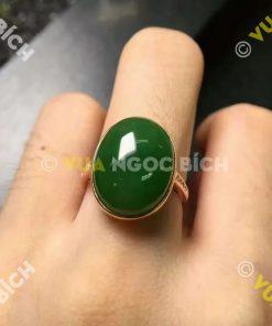 Nhẫn Ngọc Bích Nephrite Jade (NN079)