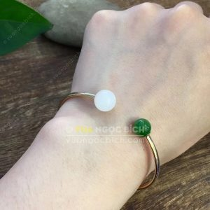 Vòng Tay Ngọc Bích Nephrite Jade (VT061)