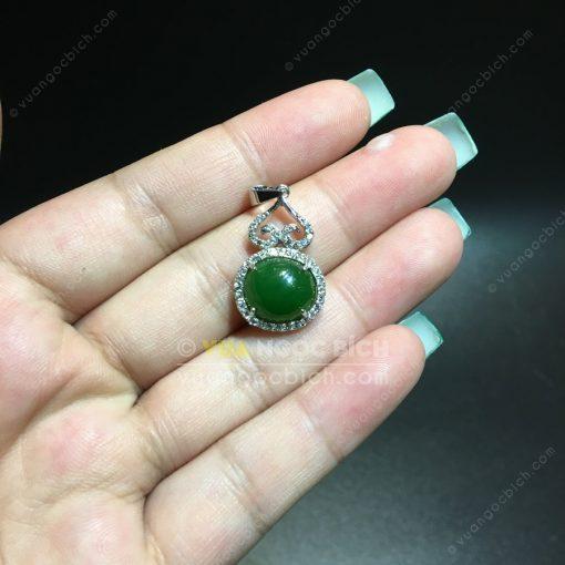 Mặt Dây Ngọc Bích Nephrite Jade (MD174)
