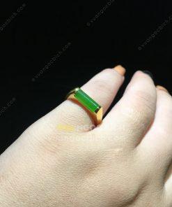 Nhẫn Ngọc Bích Nephrite Jade (NN073)