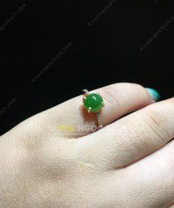Nhẫn Ngọc Bích Nephrite Jade (NN074)