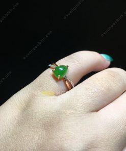 Nhẫn Ngọc Bích Nephrite Jade (NN076)