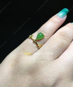 Nhẫn Ngọc Bích Nephrite Jade (NN078)