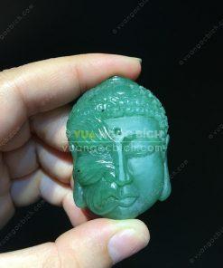 Mặt Dây Thiện Ác Ngọc Bích Nephrite Jade (VNB-MD216)