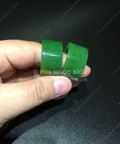 Nhẫn Càn Long Ngọc Bích Nephrite Jade VIP (VNB-NN036-1)