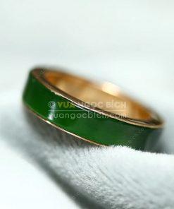Nhẫn Ngọc Bích Nephrite Jade (VNB-NN049-3)