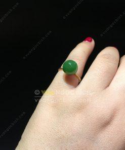 Nhẫn Ngọc Bích Nephrite Jade (VNB-NN081)