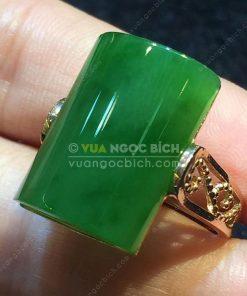 Nhẫn Ngọc Bích Nephrite Jade (VNB-NN107)