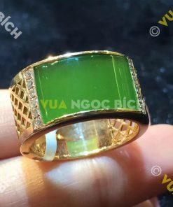 Nhẫn Ngọc Bích Nephrite Jade (VNB-NN110)