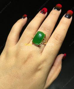 Nhẫn Ngọc Bích Nephrite Jade (VNB-NN111)